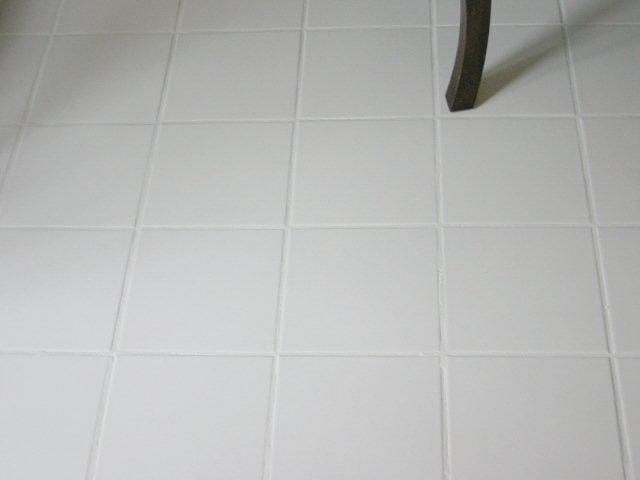 Grout clean and stain after