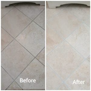 change the look of your space with grout